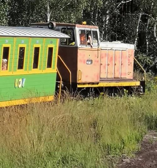 Ура! И снова паровозик: торфяная музейная железная дорога в Баложи