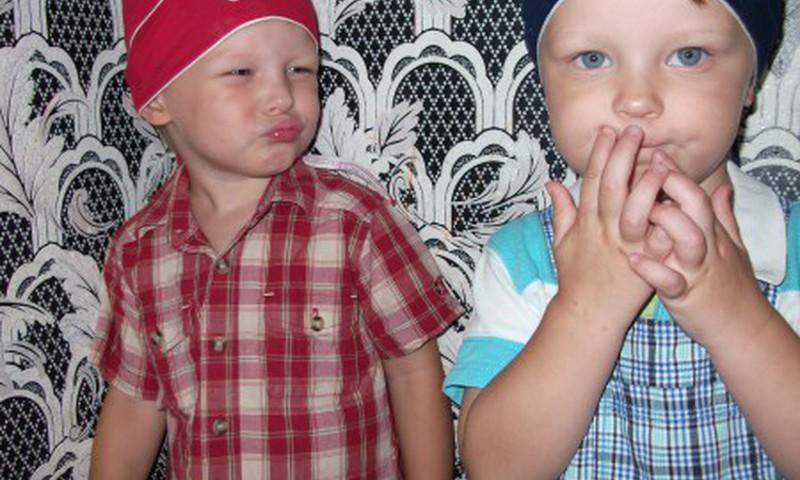 Двойняшки Тима и Тёма пошли в садик!!!