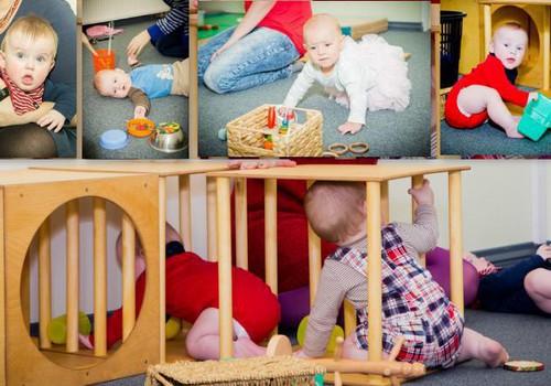 Развивающие игры с физиотерапевтом Кристиной Асоновой для малышей, рожденных в мае/июне 2017