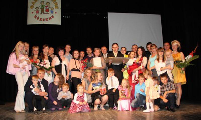 В Резекне названа «Семья года 2012»!