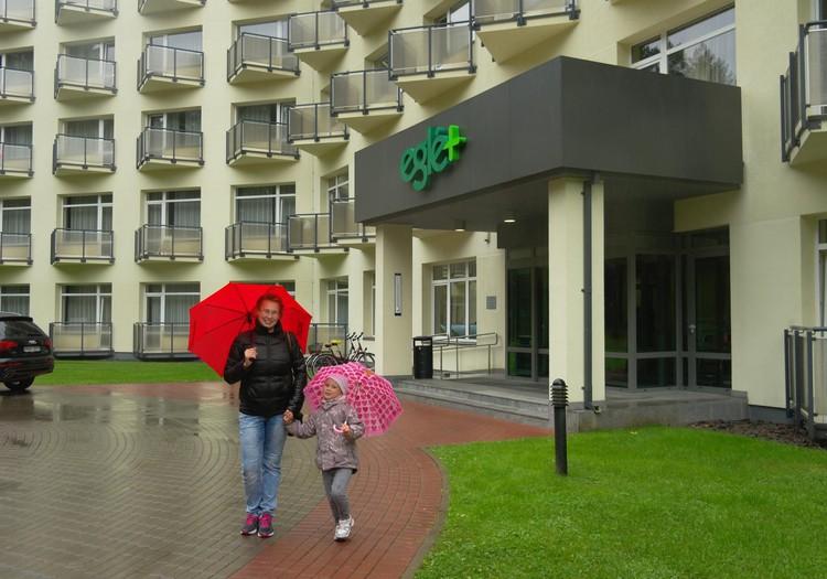 Санаторий Эгле в Друскининкае: Время пролетело незаметно быстро, полезно и приятно