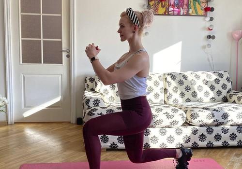 С закрытием спортклубов тренировки проводятся на дому