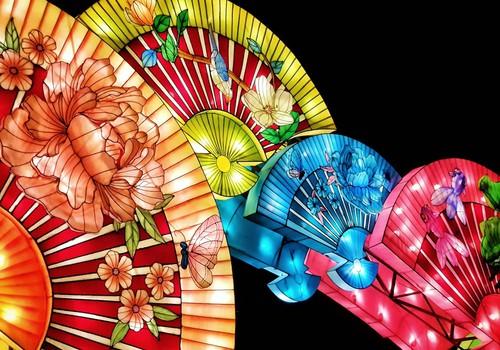 Пакруойская усадьба: Фестиваль китайских фонарей