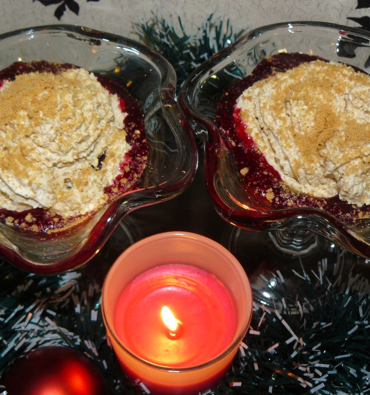 Зимний десерт в пипаркукас