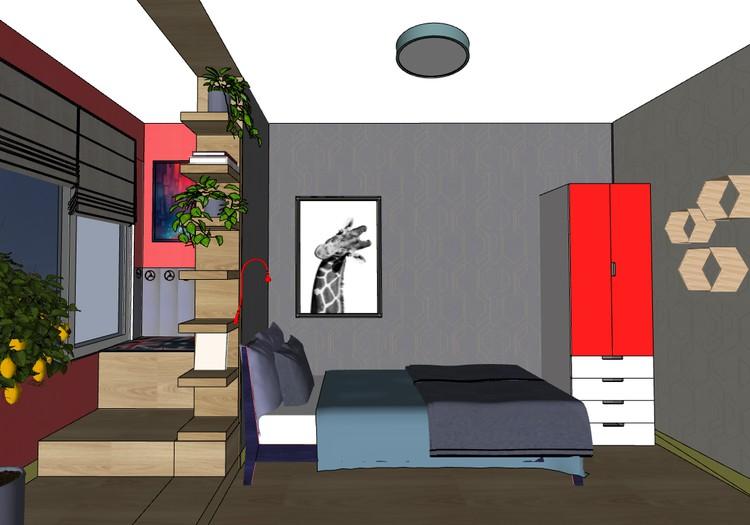 Комната подростка 602 серия