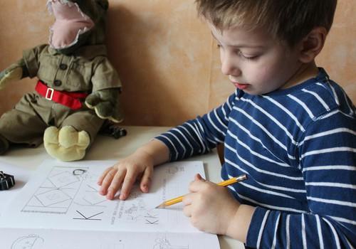 Развивающее занятие для детей с 3 до 5 лет