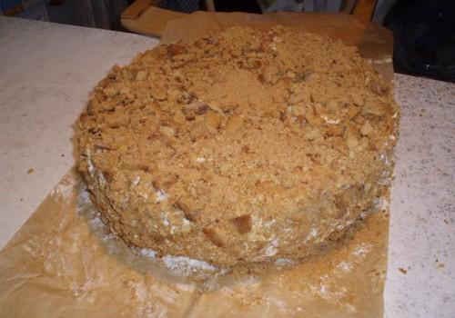 Медовый тортик от Валентины