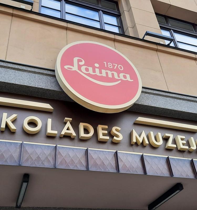"""Музей шоколада """"Laima"""" - окунись в мир сладостей!"""