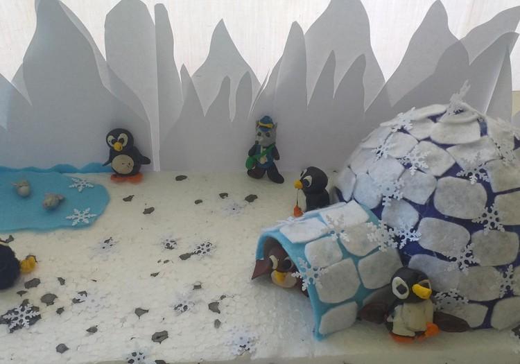 Ледяное жилище -Иглу