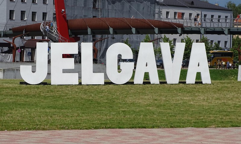 Елгава - прогулка по городу, песчаные скульптуры и вояж по Лиелупе