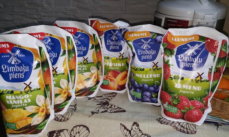 Вкусные йогурты от Limbazu piens
