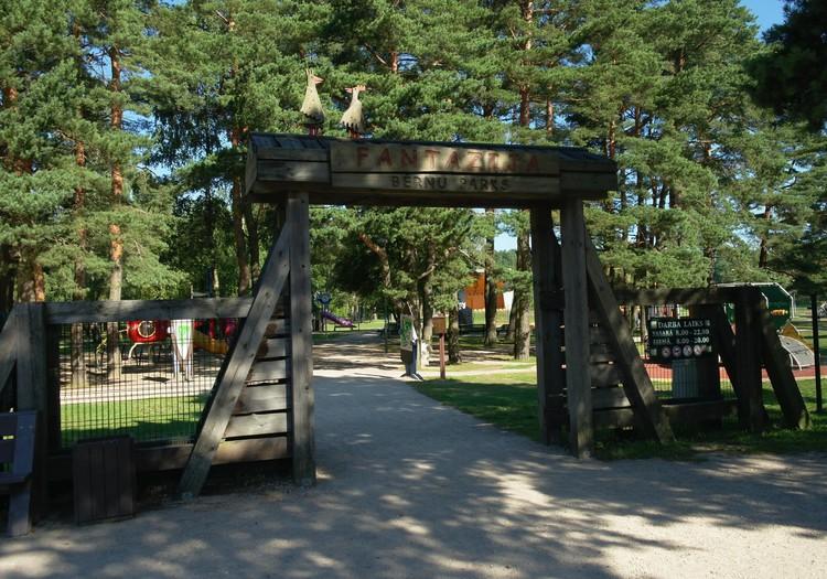 Межапарк Парвенты: «Фантазия» – рай для детей