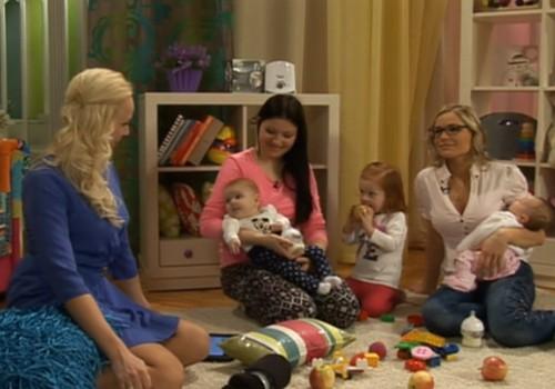 ONLINE-TV: Мамочки Маминого Клуба тестируют противоколиковую бутылочку