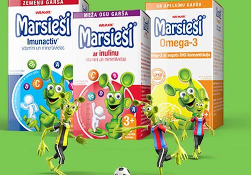 """В EUROaptiekа на витамины """"Marsieši"""" скидка 25%!"""