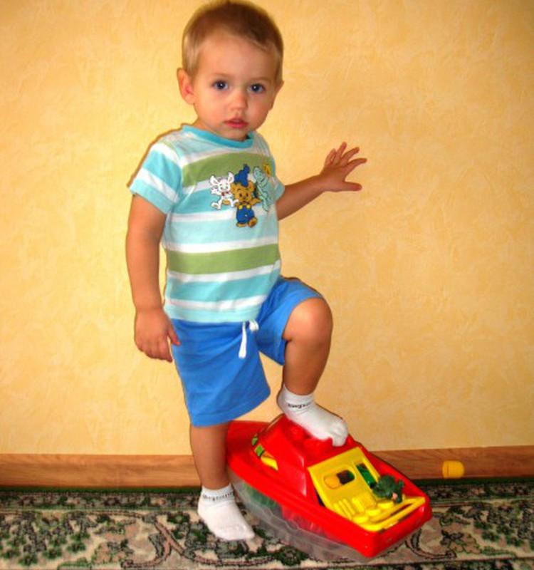 Ваш ребёнок любит собираться на прогулку?