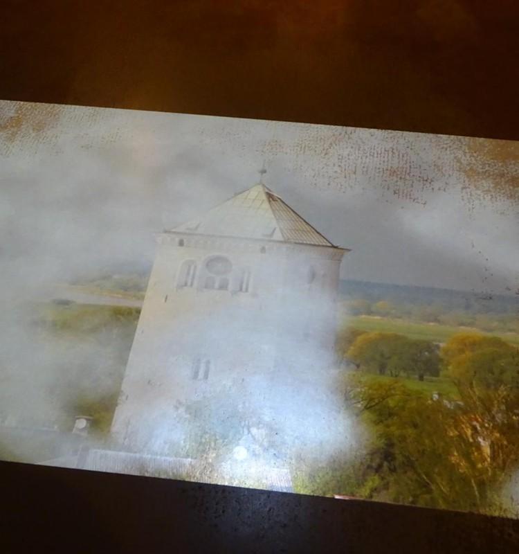 Башня Елгавской церкви Святой Троицы