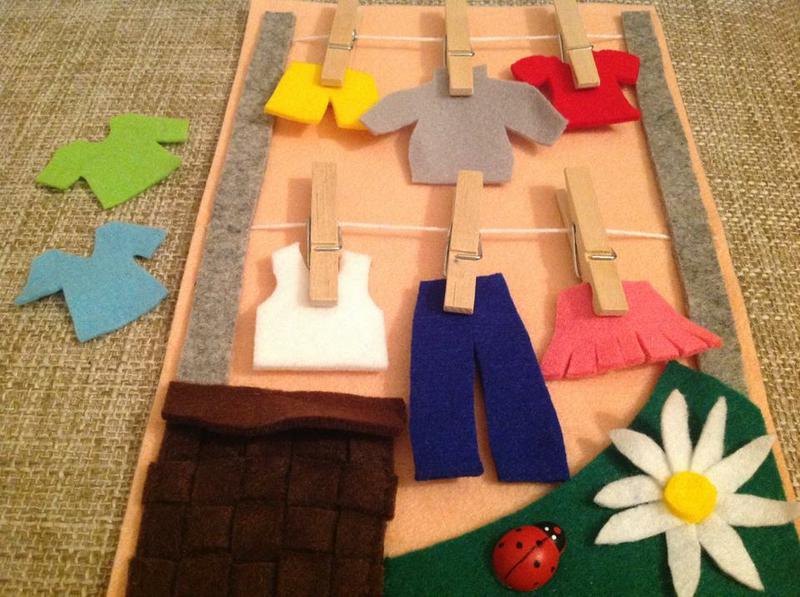 Игры для детей своими руками из фетра