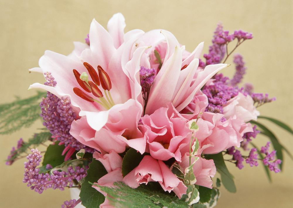 Праздничные цветы картинки 4