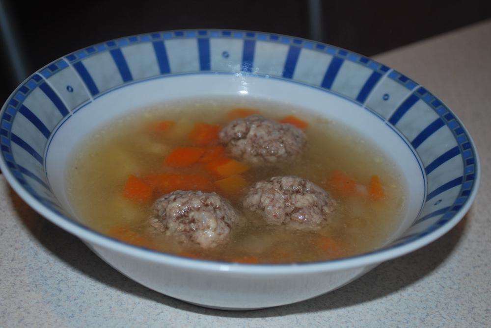 Фрикаделевый суп рецепт с фото