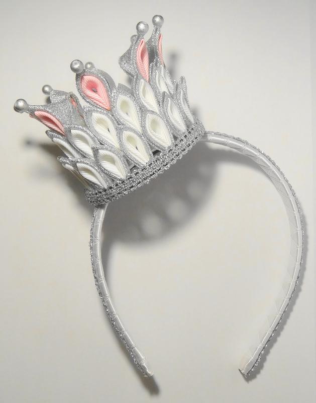 Мастер класса канзаши корона