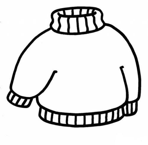 Раскраски шарф шапка