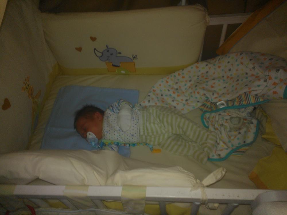 как застелить кровать новорожденного фото
