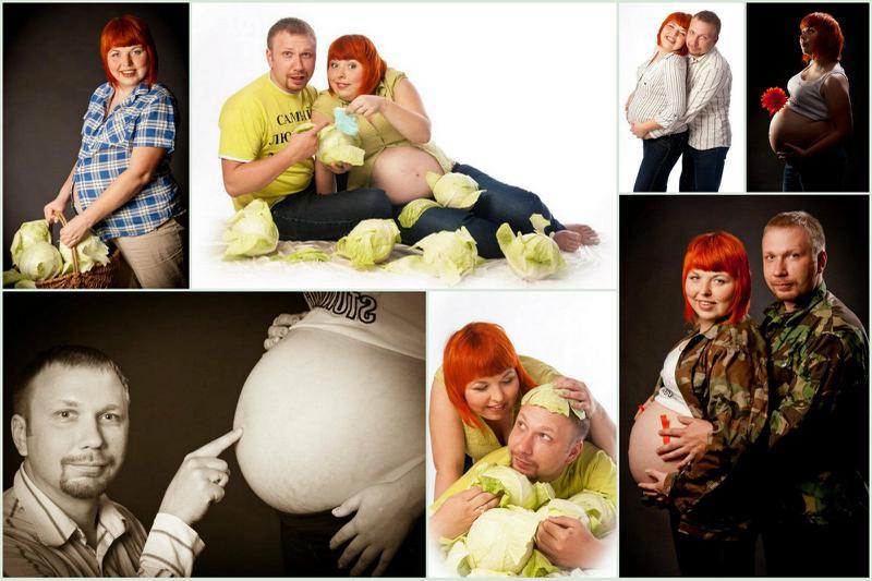 Позы для беременной фотосессии с мужем и ребенком 43