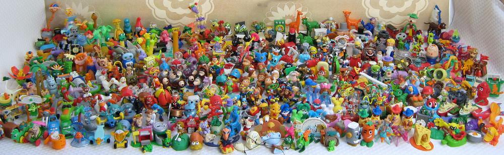 Поделки из игрушек от киндер сюрпризов