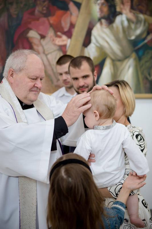 Статус покрестили ребенка
